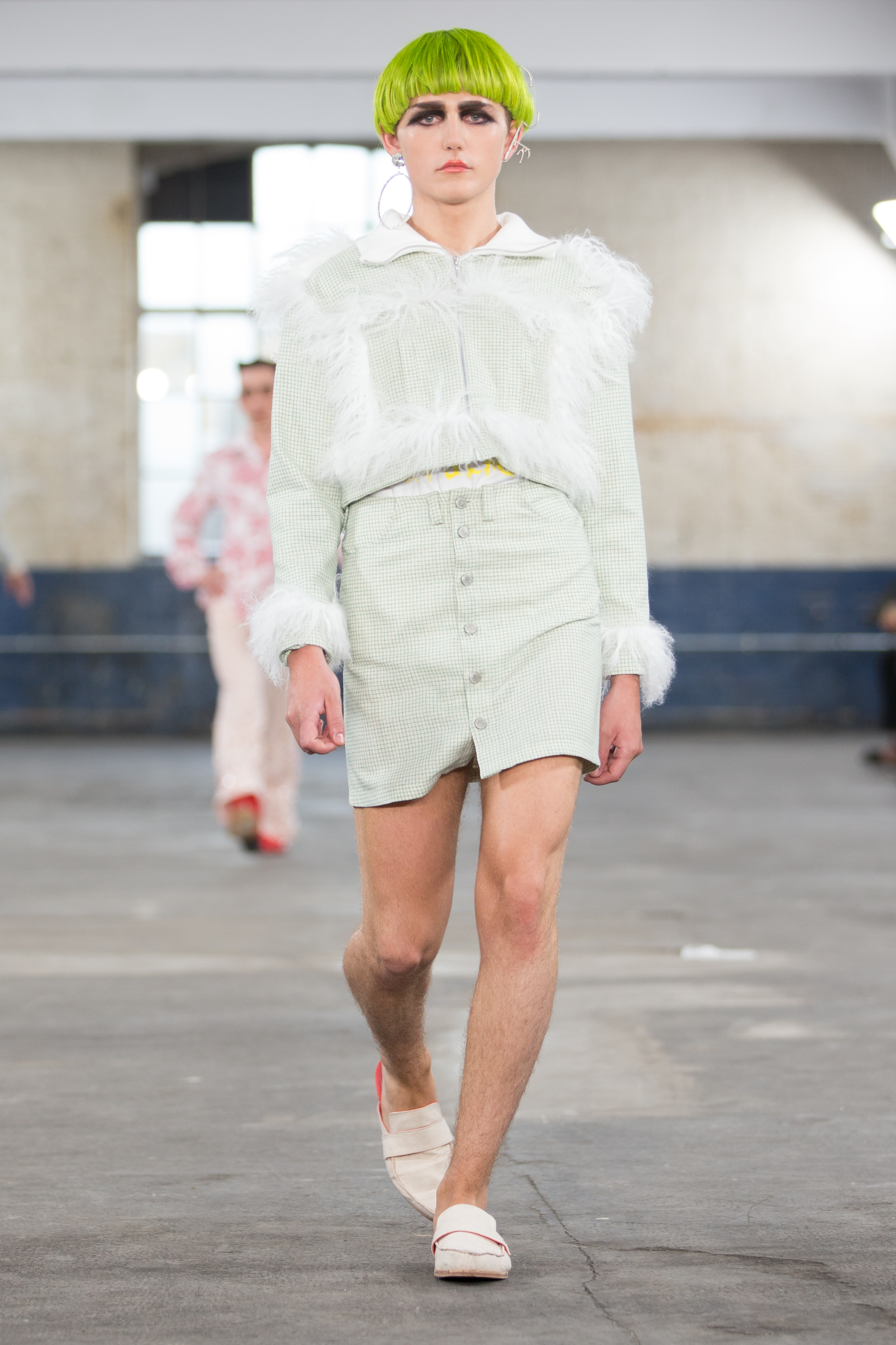 The Old Truman Brewery London Uk 10th June 2017 Man Ss18 Show