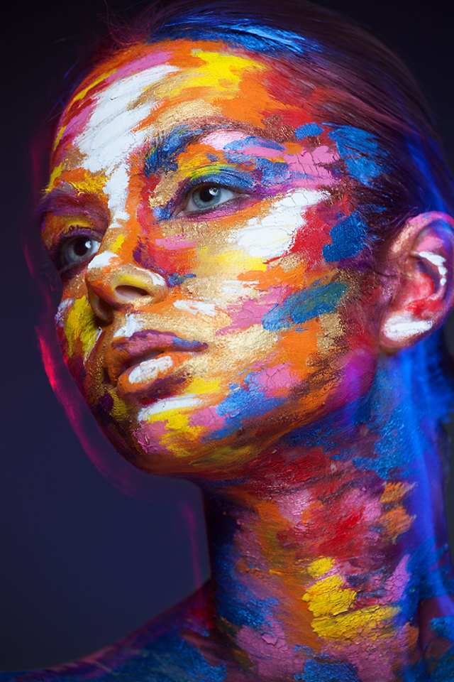 how to make images look painted in photoshop