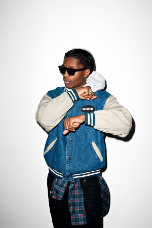 Terry Richardson Photographs A$AP Rocky for 'Purple ...