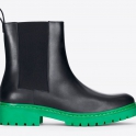 £139.99 Black boot green sole