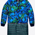 £139.99 kenzo Bomber Trench Blue Green