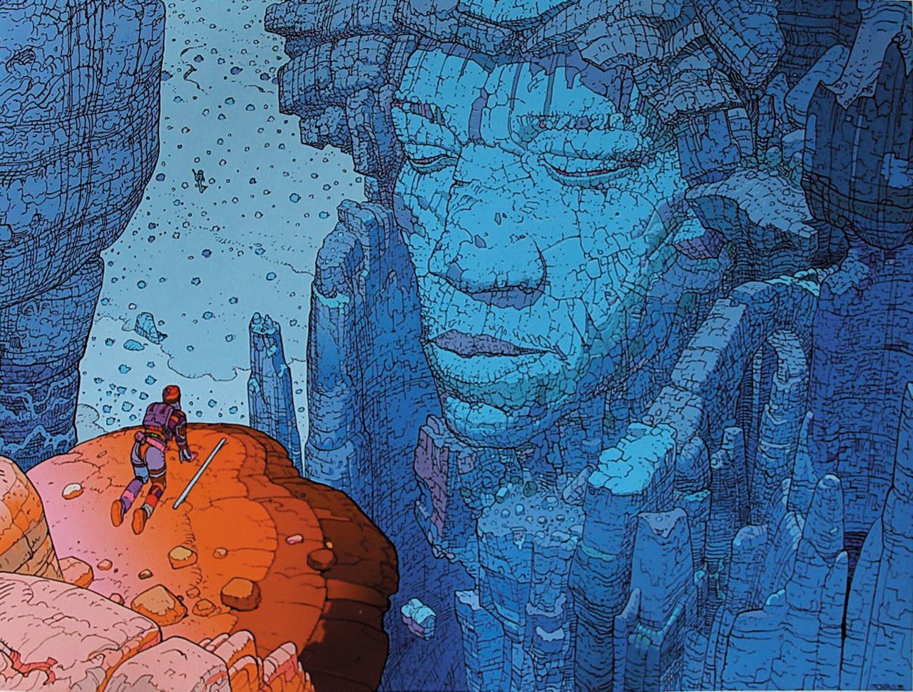 The Amazing Art of Moebius (Jean Giraud) and The 18 Art Tips ...