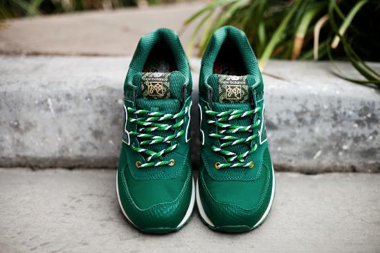 dark green 574 new balance