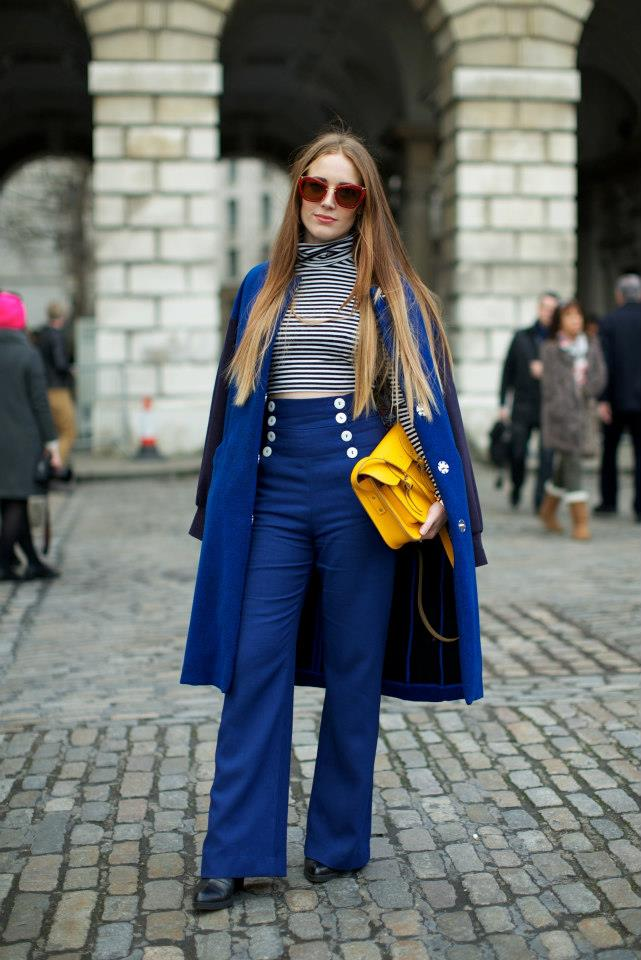 Street Style At London Fashion Week I Like It A Lot