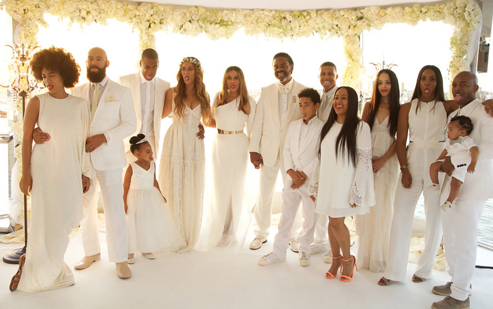 richard lawson and tina knowles wedding