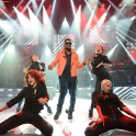 Usher performs for the 'American Express Unstaged' series, in partnership with VEVO and YouTube, at Hammersmith Apollo on June 11, 2012 in London, United Kingdom.