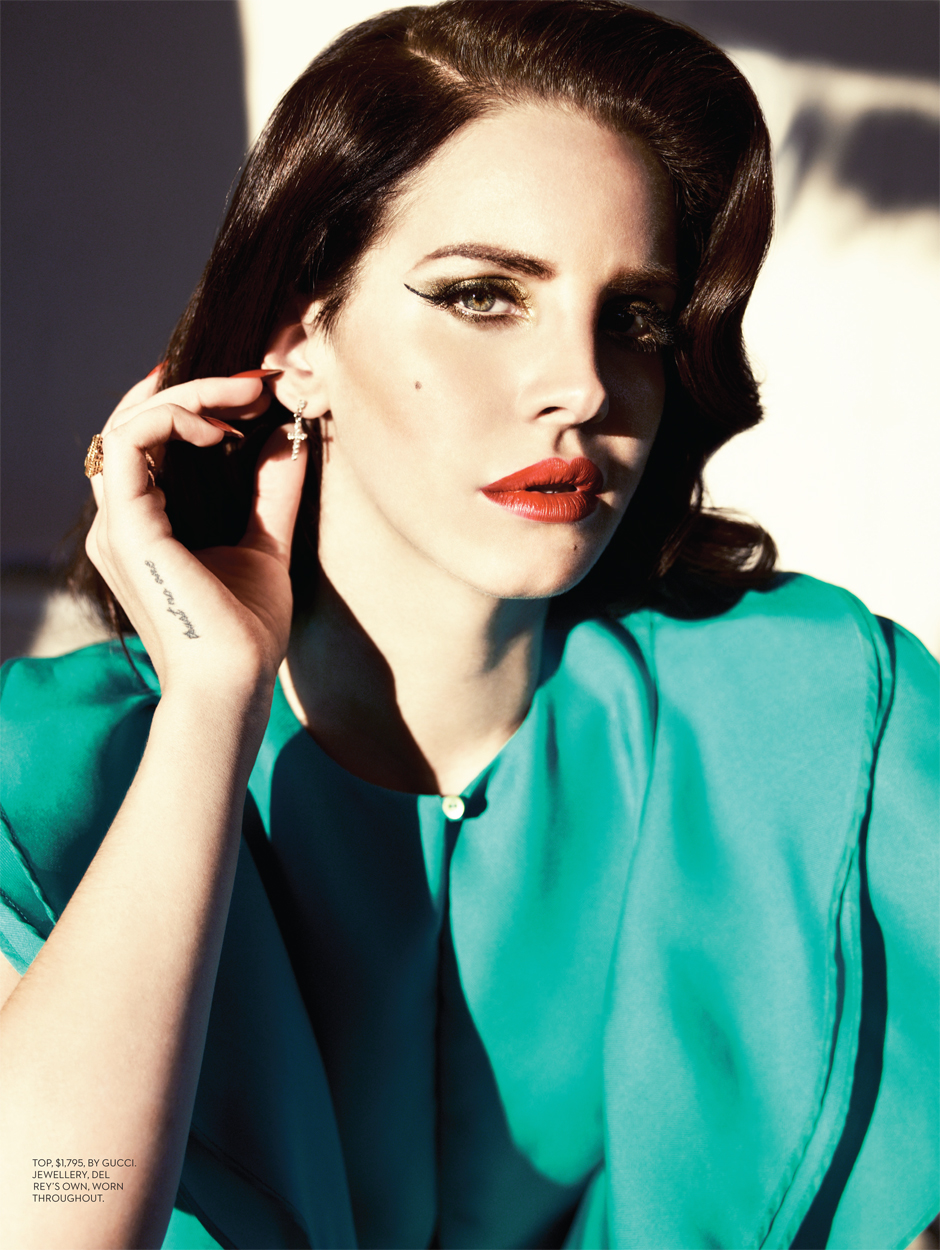 Lana Del Rey graces the cover of Fashion MagazineI Like It ...