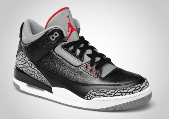 premium selection cfebf df5d8 Air Jordan 3 Retro Black/Varsity Red – Cement GreyI Like It ...