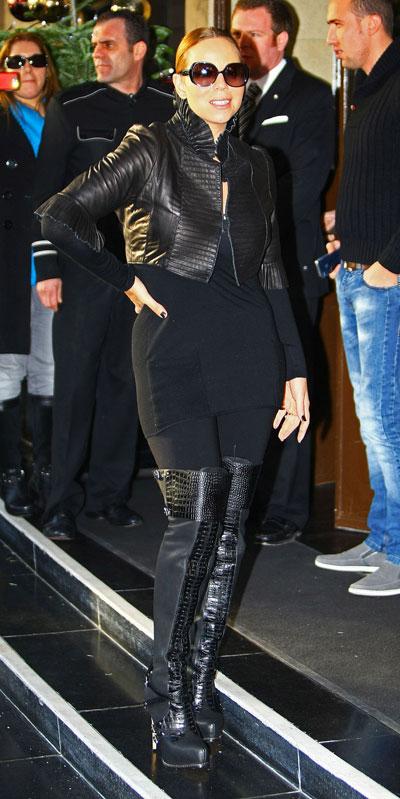All Black Letterman Jacket