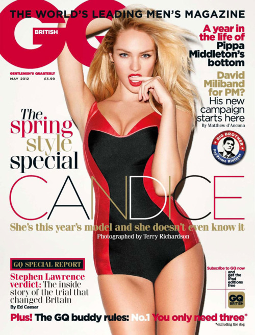 Candice Swanepoel for GQ UK