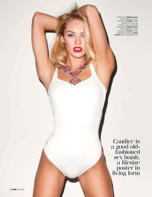 Candice Swanepoel for GQ UK2