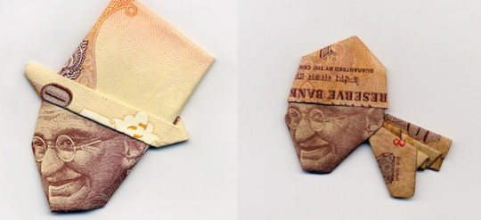 Currency-Caps-Mahatma-Ghandi
