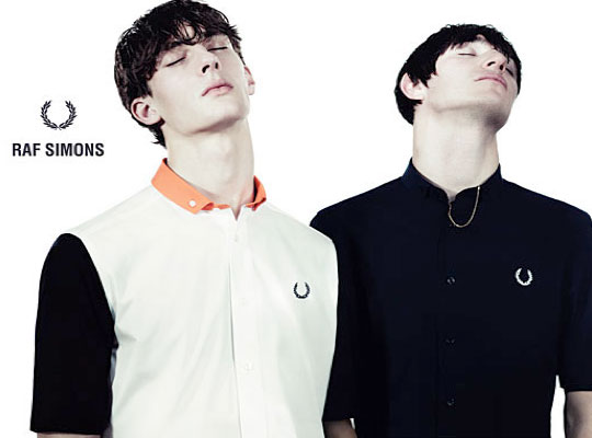 da1c74194256d Fred Perry and Raf Simons Spring Summer 2013