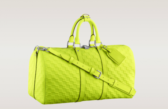 a81c1cc2a4c6 Screen shot 2013-03-07 at 21.23.24. Louis Vuitton presents The Keepall  Bandouliere 45 for the ...