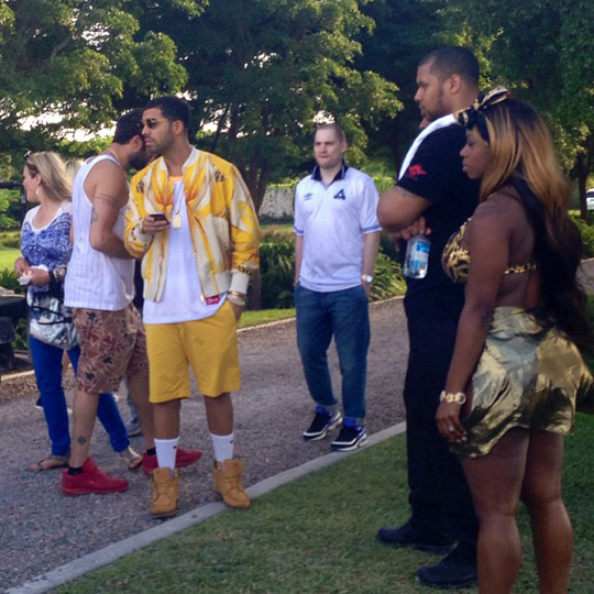 dj-khaled-drake-rick-ross-lil-wayne-no-new-friends-video-shoot