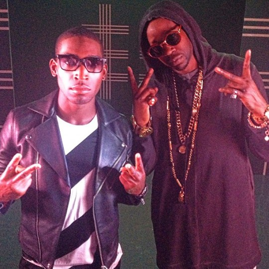 Tine-Tempah-2Chainz-July-2013-BellaNaija