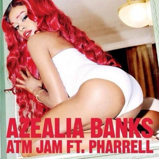 Azealia Banks ATM Jam Cover
