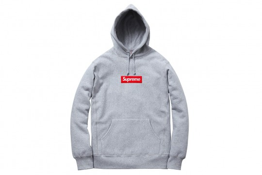 Grey Hoodie A must to add to your Collec, Here's Supreme