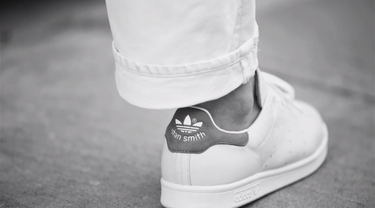 Adidas Originals Stan Smith Sneakers With Reptile Back