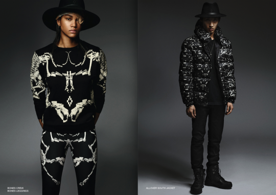 marcelo burlon county of milan Autumn:Winter 2014:2015