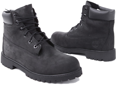 timberlands all black