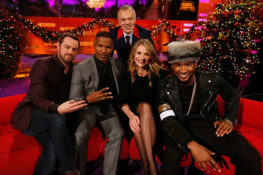 Danny-Dyer-Jamie-Foxx-Graham-Norton-Cameron-Diaz-and-Usher-2