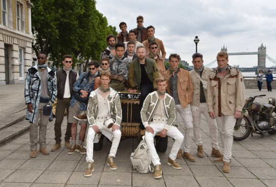 Belstaff show, London Collections: Men, Spring Summer 2016, London, Britain - 14 Jun 2015