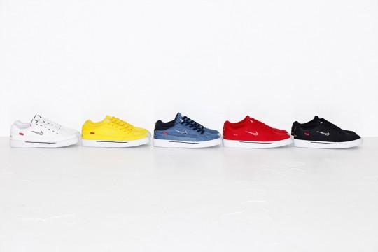 NIKE SB GTS QS SUPREME men deep blue shoes