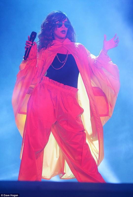 Rihanna rio 2015