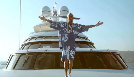 tyga-yacht