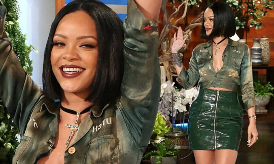 Rihanna on The Ellen Degeneres Show