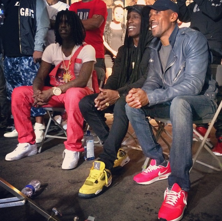 Chief Keef and A$AP Rocky i-likeitalot.com