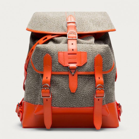 bally cotten orange