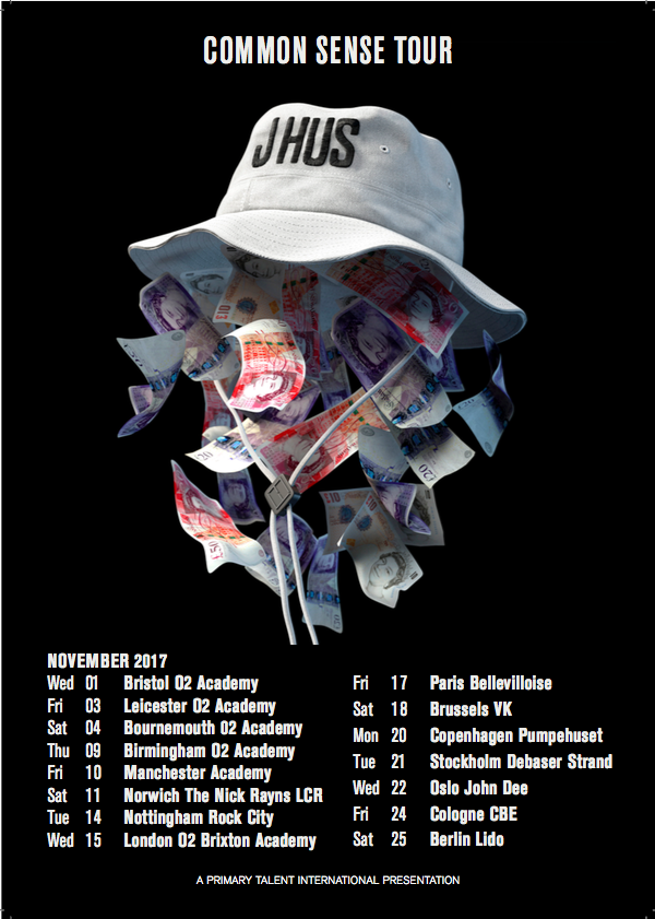 J HUS 2017 TOUR x i-likeitalot