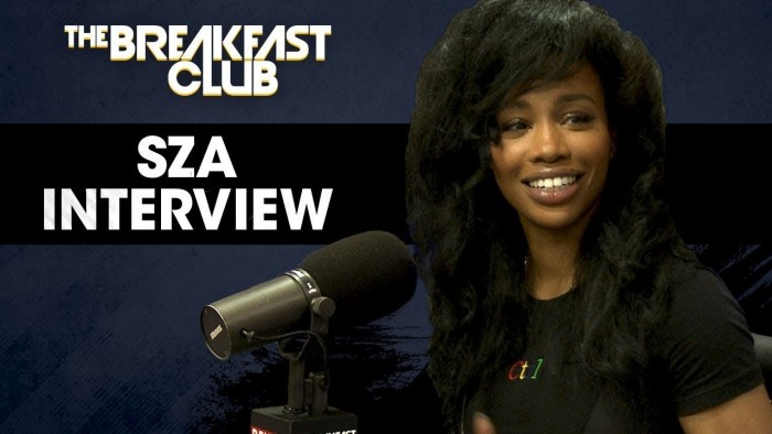 sza breakfast club