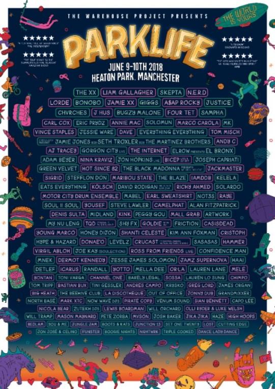 parklife-2018-lineup