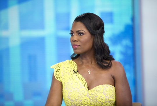 Omarosa Manigault Newman appears on the TODAY show on August 18, 2018.