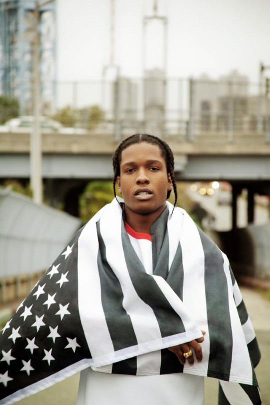 a$ap swag and flag