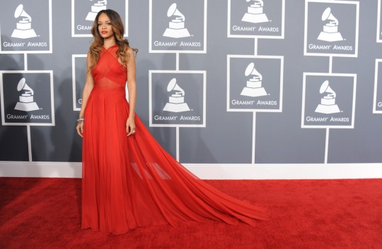 Rihanna Navy Grammy 55