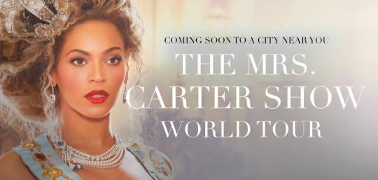 mrs carter world tour