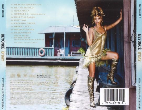 Beyonce - B Day - Back
