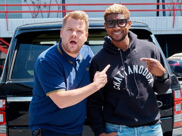 Usher Carpool James