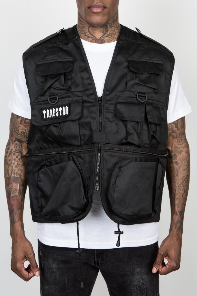 DECODED black utility vest